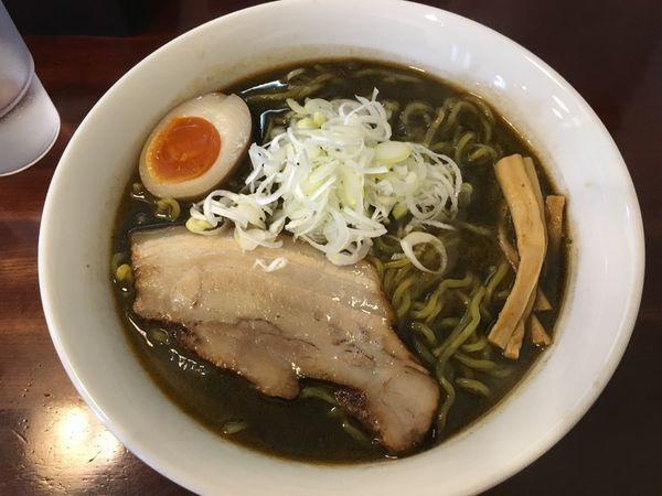 「黒味噌ラーメン」@らーめん風の写真