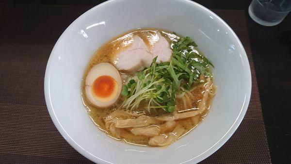 「鶏白湯 醤油」@麺屋 縁 YUKARIの写真