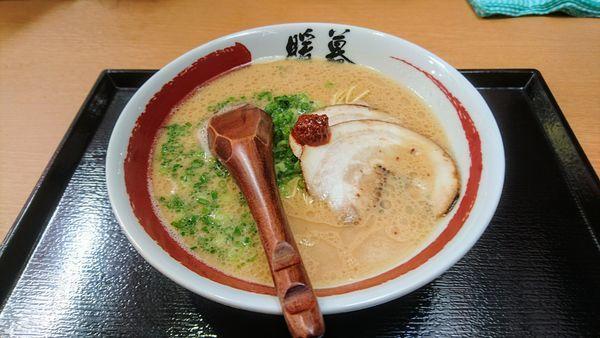 「ラーメン(硬め)」@ラーメン暖暮 横浜鶴屋町店の写真