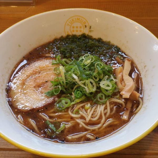 「魚介醤油ラーメン」@YUKIMURA NOODLES & COFFEEの写真