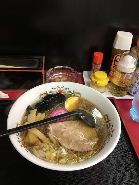 「醤油ラーメン」@味のももんじの写真