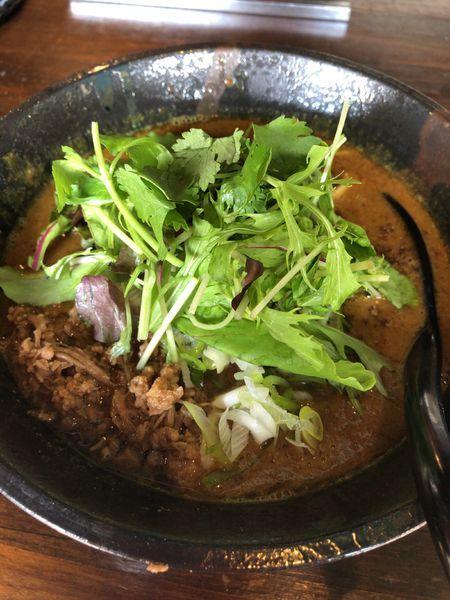 「坦々麺・黄」@担々麺専門店 GOMAの写真