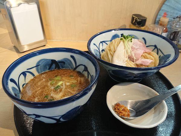 「鶏と魚介のつけめん」@つけ麺 たけもとの写真