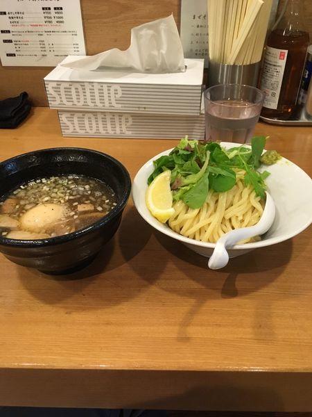 「塩つけ麺」@つけめん桜坂の写真