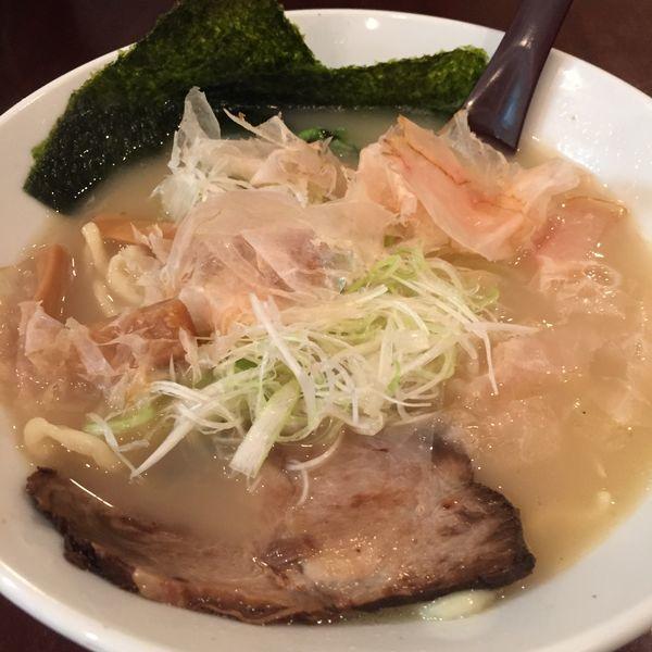 「鶏白湯ラーメン」@麺や七福の写真