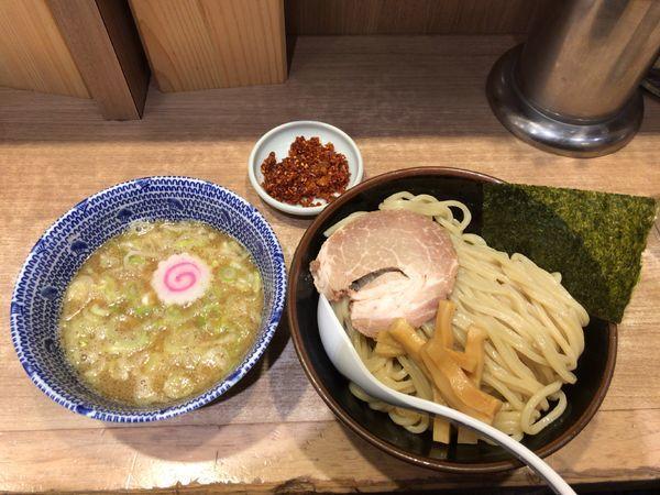 「つけ麺小辛トッピ」@舎鈴 エキュート赤羽店の写真