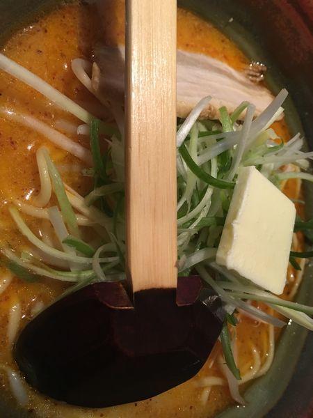 「ピリ辛味噌ラーメン 750円」@むてっぽうの写真