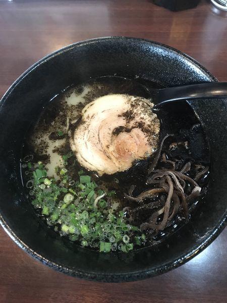 「熊本ブラック+替玉(¥700+¥150)」@熊本ラーメン 大悟の写真