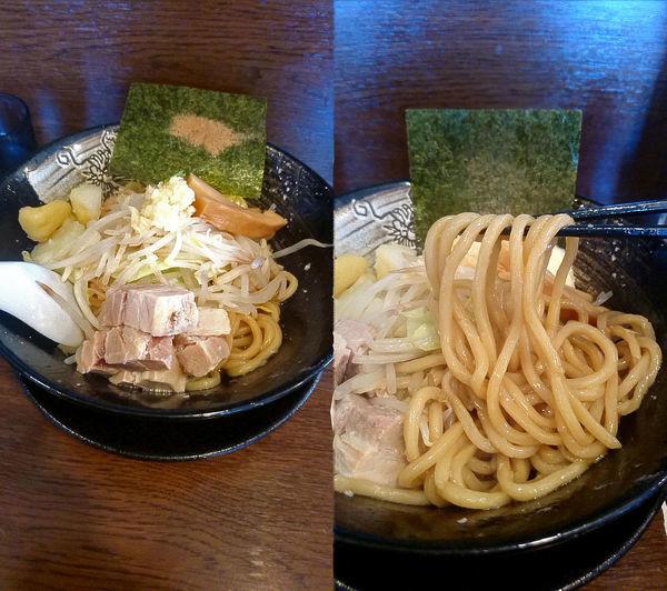「『じゃがいも入りまぜそば(¥780)』のニンニク&マヨネーズ」@拉麺雷多の写真