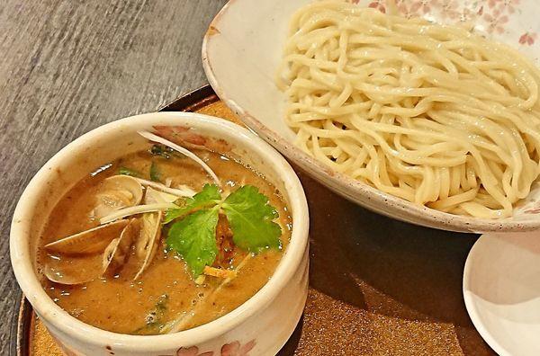 「鶏と貝のつけ麺」@チラナイサクラの写真