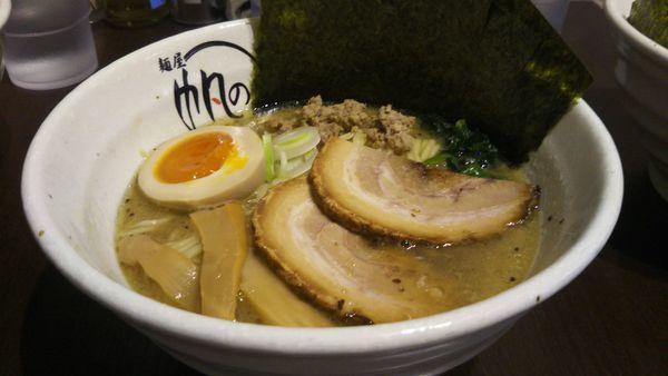 「元祖 特製家白湯麺」@麺屋 帆のる 西新橋店の写真