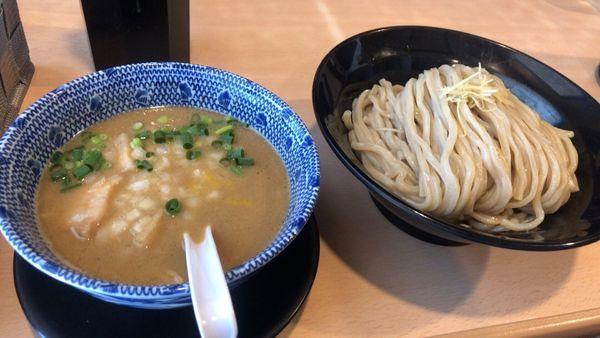「鶏白湯つけ麺(醤油) 大盛」@麺堂 稲葉 ~Kuki style~の写真