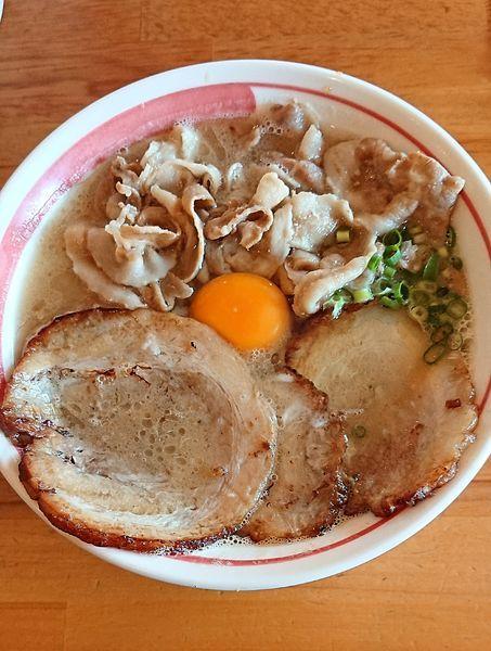 「肉ラーメン」@とんこつラーメン 光★MENJIの写真