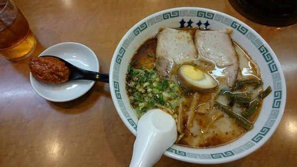 「桂花ラーメン+辛味噌」@桂花 本店の写真