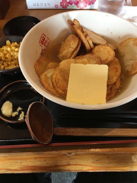 「ポテトラーメン+コーン」@はんぐり〜の写真