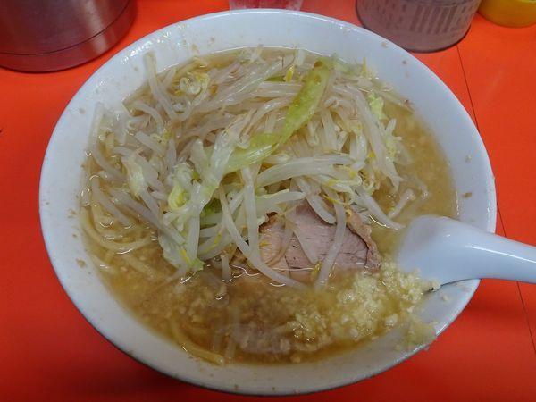 「らーめん(650円)+豚めし(350円)」@らーめん いごっそうの写真
