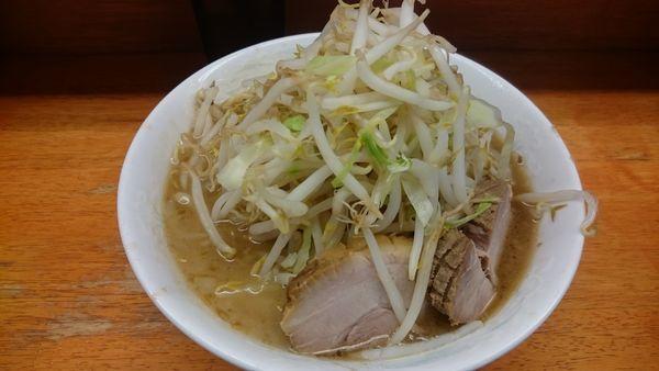 「麺少なめ」@ラーメン二郎 立川店の写真