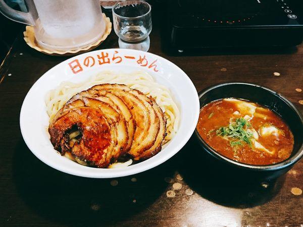 「剛つけ麺 チャーシュー 無料大盛」@日の出らーめん 横浜桜木町本店の写真
