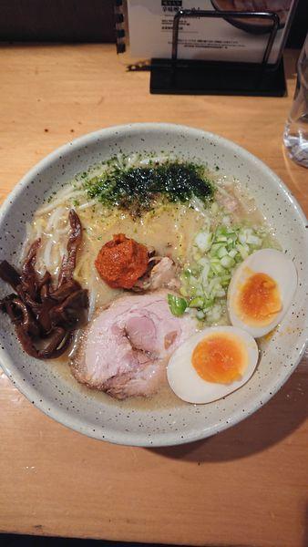 「辛味噌ラーメン」@つじ田 味噌の章 飯田橋店の写真