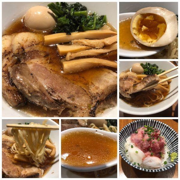 「【限定】川越醤油らーめん イベリコ豚の焼豚添え850円」@寿製麺よしかわ 川越店の写真