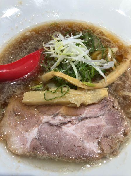 「煮干し醤油らーめん」@らーめん伊藝 大淀本店の写真