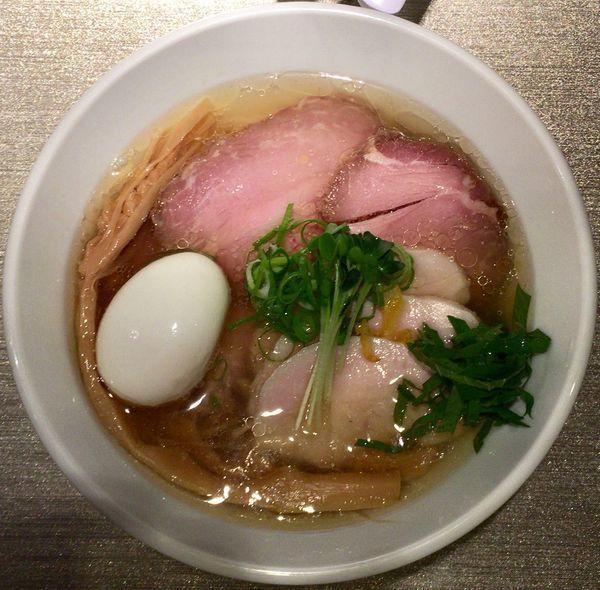 「味玉らーめん(塩)+チャーシュー」@光麟堂の写真