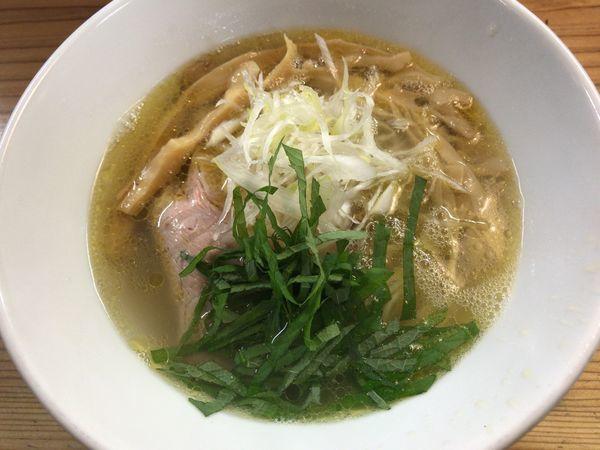 「鶏塩」@麺蔵 あつおの写真