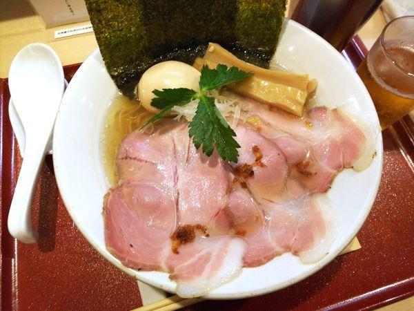 「特製金色貝そば 990円」@燃えよ麺助の写真
