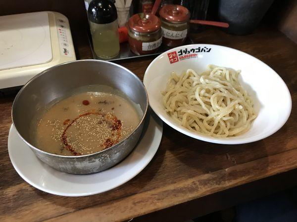 「ゴマ坦々つけ麺」@つけ麺・ラーメン 五十五番 豊田店の写真