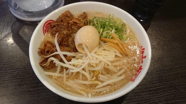 「肉玉そば」@徳島中華そば 徳福 神田店の写真