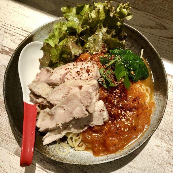 「【限定B】冷やしトマトの冷麺 ¥800」@麺屋 誉の写真
