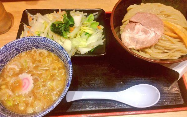「野菜つけめん・並」@舎鈴 キュービックプラザ新横浜店の写真