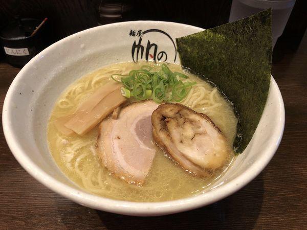 「鶏白湯そば」@麺屋 帆のる 浜松町店の写真