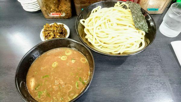 「濃厚豚骨つけ麺(中)」@無鉄砲 つけ麺 無極の写真