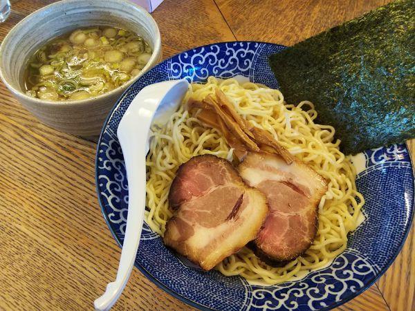 「酢・山椒つけ麺 (1.5玉:無料)」@のんべえ食堂 天火の写真