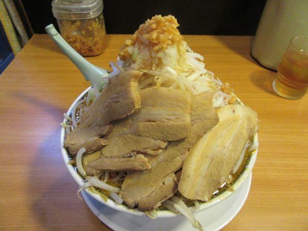 「味噌ふじ麺(750円)+関脇+小豚+野菜」@東池袋大勝軒 うさぎ家の写真