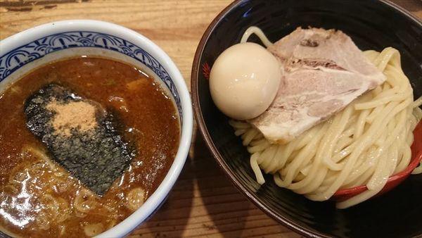 「半熟玉子チャーシューランチ」@つけ麺専門店 三田製麺所 田町本店の写真