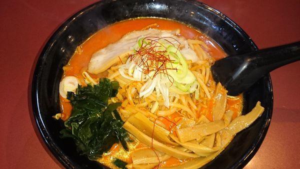 「鉄火麺 味玉」@北海道らーめん ひむろ 亀戸店の写真