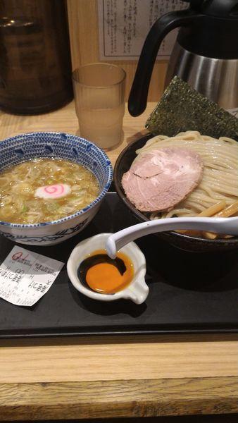 「海老つけ麺」@舎鈴 八重洲店の写真