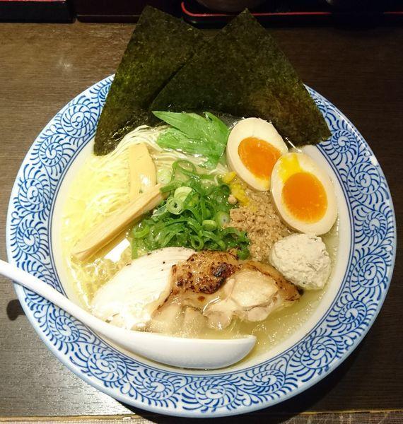 「特製あっさり鶏そば」@征麺家 かぐら屋の写真