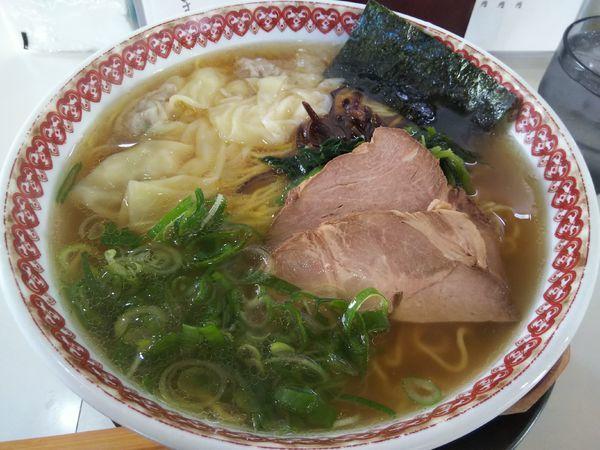 「【限定】煮干し中華そば (大盛り:サービス券)」@麺肴ひづき あさのやの写真
