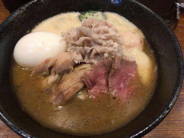 「特製味噌シチューラーメン」@麺屋 神風の写真