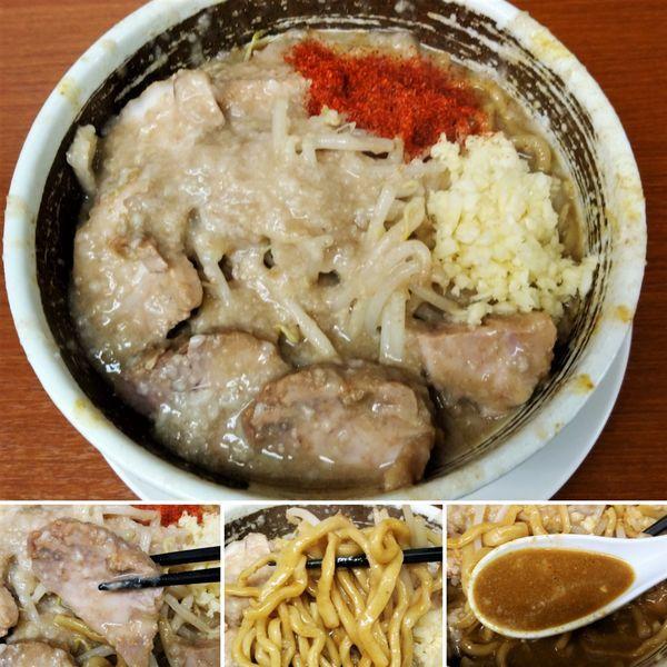 「味噌ラーメン豚+カレー風味=1050円」@麺や 希 御徒町店の写真