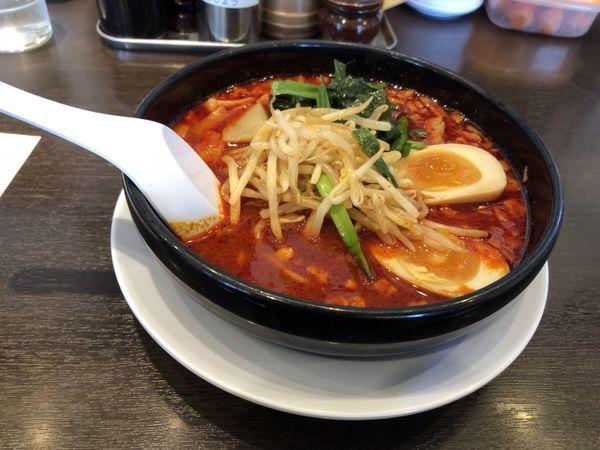「旨辛麺2辛」@ラーメン 来来亭 東松山店の写真