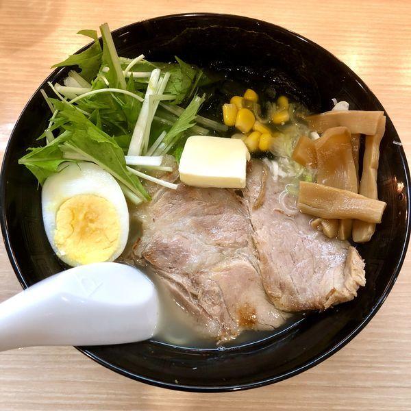 「ゆず塩バター¥780」@麺屋えんの写真
