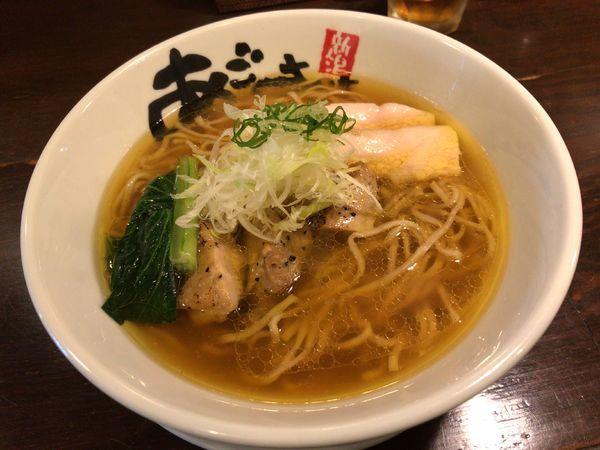 「旨塩鶏麺」@麺屋 あごすけの写真