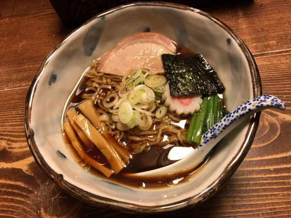 「醤油拉麺」@拉麺酒房 熊人の写真