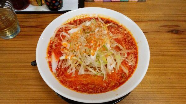 「担々麺(辛め)¥930-」@支那そば 蔵之宮の写真