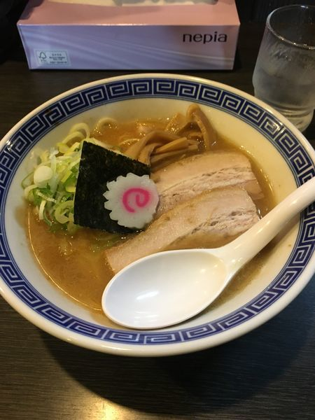 「焼きあご豚骨ラーメン」@景勝軒 前橋総本店の写真