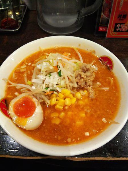 「味噌光麺」@光麺 原宿店の写真